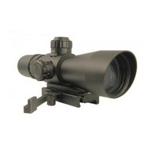 NcStar NcStar Mark III Tactical Scope Series RF 4X32/Scope Green Dot Sight STR432G/G
