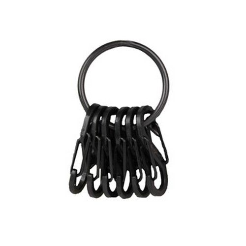 Nite Ize Key Ring Steel Black/Black S-Biners