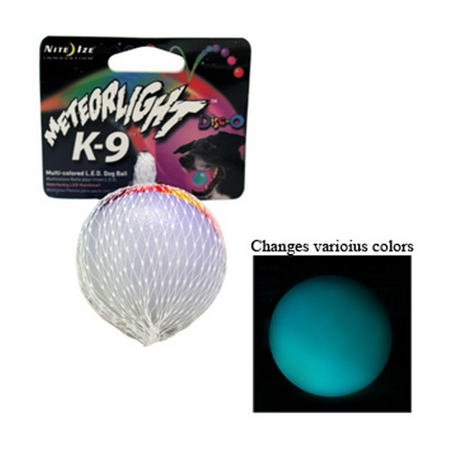 Nite Ize Nite Ize MeteorLight Ball K-9 Disc-O LED MTLP-08-07