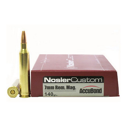 Nosler Nosler 7mm Remington Magnum 140gr AccuBond (Per 20) 60033