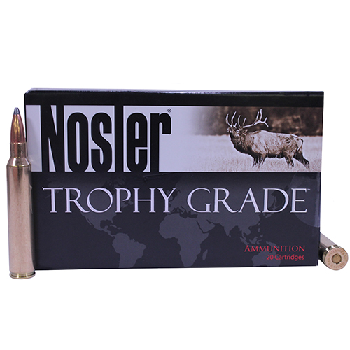 Nosler Nosler 300 Remington Ultra Magnum, Trophy Ammunition 165gr Partition (Per 20) 60064