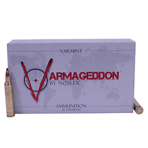 Nosler Nosler Varmageddon Ammunition 223 Remington 55 Gr Flat Base Hollow Point (Per 20) 65140