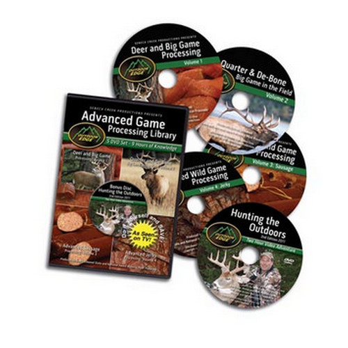 Outdoor Edge Cutlery Corp Outdoor Edge Cutlery Corp DVD 5-DVD Game Processing Library AP-101