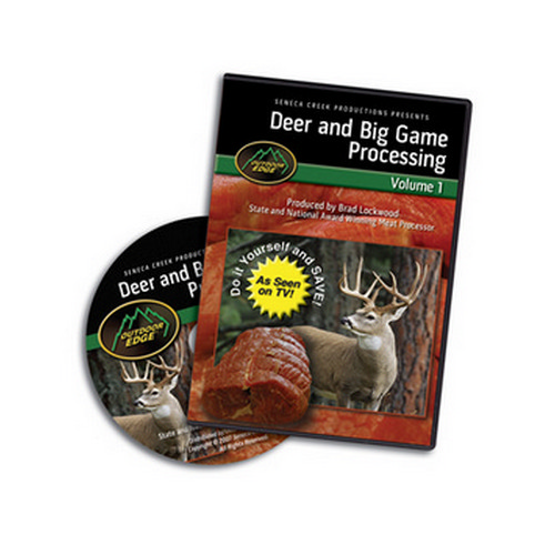 Outdoor Edge Cutlery Corp DVD Deer & Big Game Processing: Volume 1