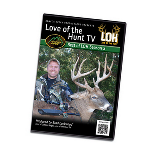 Outdoor Edge Cutlery Corp DVD Love Of The Hunt - Best Of Season 3