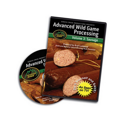 Outdoor Edge Cutlery Corp Outdoor Edge Cutlery Corp DVD Sausage-Adv. Processing: Volume 3 SP-101