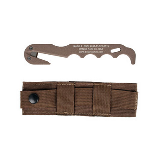 Ontario Knife Company Strap Cutter Model 4, CB, Rescue Tool