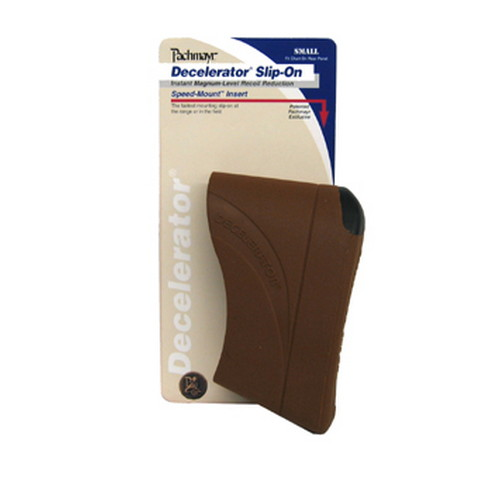 Pachmayr Pachmayr Decelerator Recoil Pads Slip-on Recoil Pad, (Small, Brown) 04418