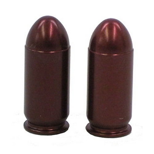 A-Zoom Pistol Metal Snap Caps 9mm Luger, (Per 5)