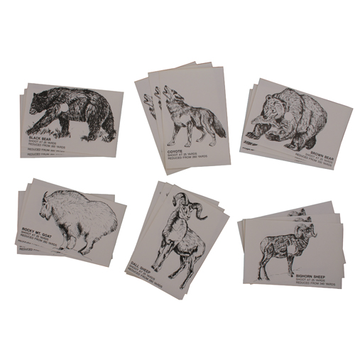 Pachmayr Pachmayr Clean Kill Animal Targets, 18 Per Pack 4025110