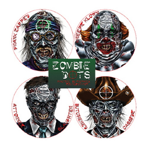 Pachmayr Pachmayr Zombie Variety Pack (12/Pack),Zombie Target 4026308