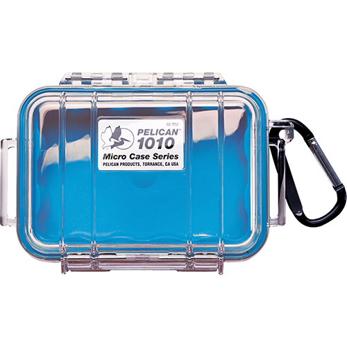Pelican Pelican Micro Case Clear Top 1010 Blue 1010-026-100