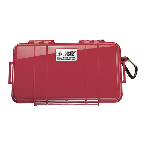 Pelican Micro Case 1060 Red w/Black Liner