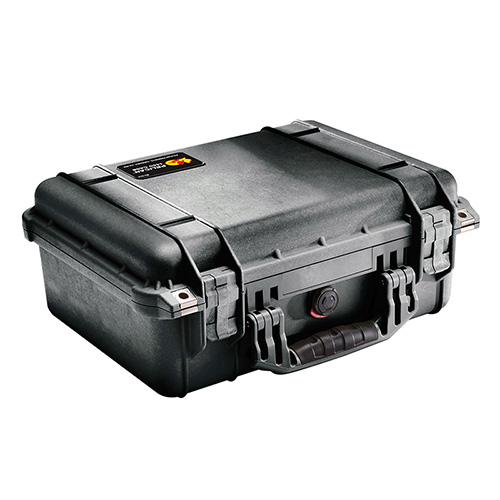 Pelican Protector 1450 Large Double Pistol Case, Black
