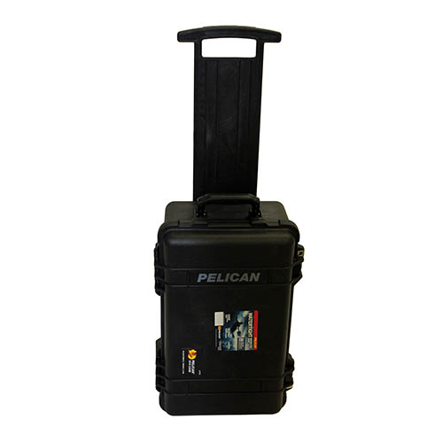 Pelican 1510 Hard Case NF, Wl/Nf, Black