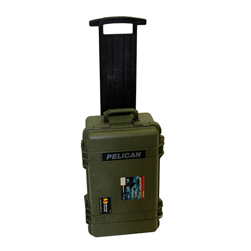 Pelican 1510 Hard Case NF, Wl/Nf, OD Green