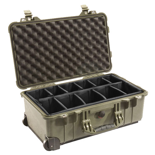 Pelican 1514 Hard Case Wl/Dd, OD Green