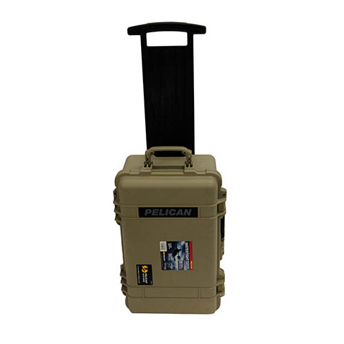 Pelican Pelican 1510 Hard Case Wl/Luggage Insert, Tan 1510-006-190
