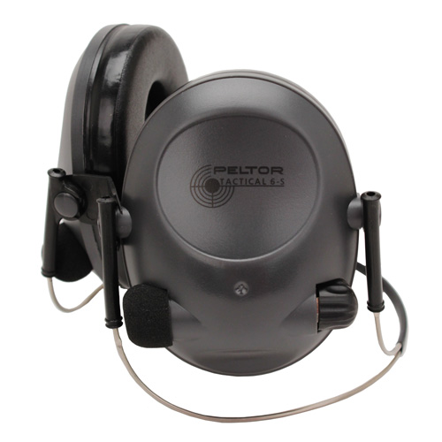 Peltor Tactical Hearing Protectors Tactical  6S Behind The Head (NRR 19dB)