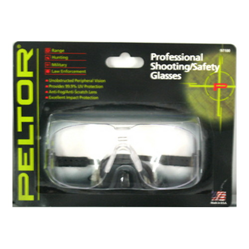 Peltor Peltor Shooting Glasses Professional Shooting Glasses, Clear Lens 97100-00000