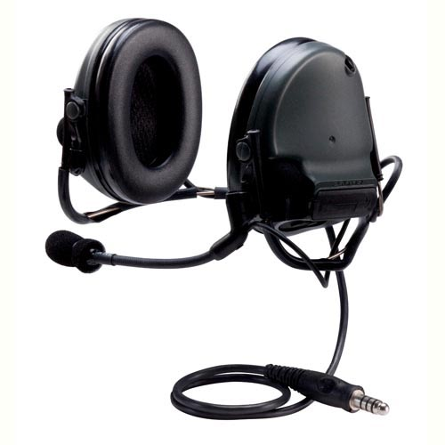 Peltor Peltor Electronic Head Set Backband, Single Comm, NATO Black MT17H682BB-47 SV