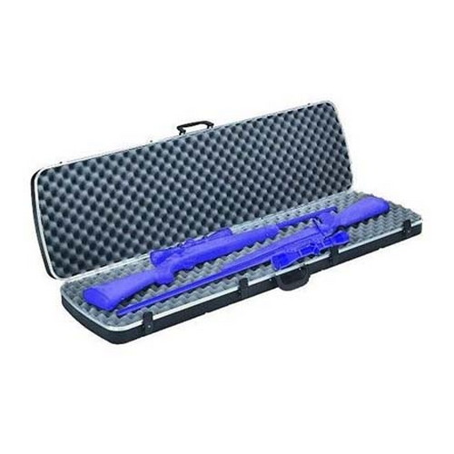 Plano Plano Deluxe Gun Case Double Scoped Rifle, Black 10-10252