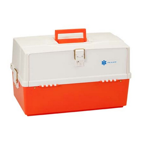 Plano Plano XL Front Access 3 Tray Box Orange & White 747-004