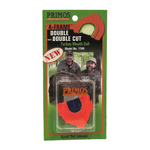 Primos Primos Turkey Mouth Call A-Frame Double with Double Cut 1184