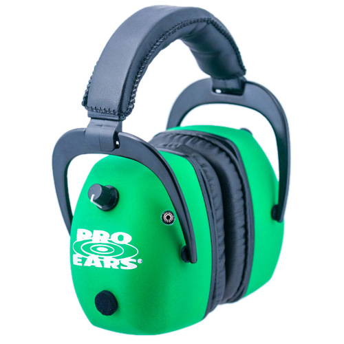 Pro Ears Pro Ears Pro Mag Gold Neon Green GS-DPM-NG