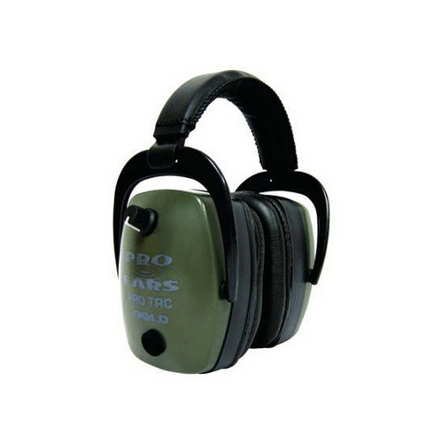 Pro Ears Pro Ears Pro Tac Mag Gold NRR 30 N-Style Battery, Green GS-PTM-G
