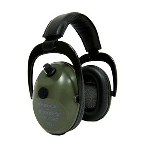 Pro Ears Pro Tac Plus Gold Green