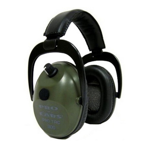 Pro Ears Pro Ears Pro Tac Plus Gold Green, Lithium 123 Battery GS-PT300-L-G