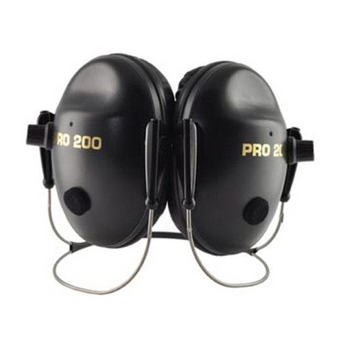 Pro Ears Pro 200 NRR 19 Black, Behind the Head