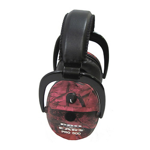 Pro Ears Pro 300 NRR 26 RealTree Pink Camo