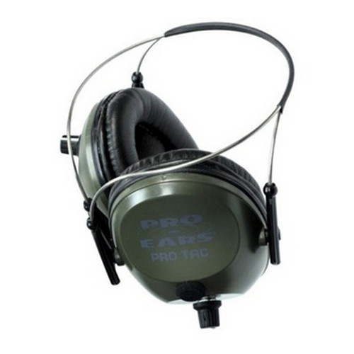 Pro Ears Pro Tac 300 Green, Behind the Head