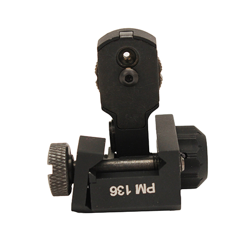 ProMag AR15/M16 Flip Up Rear Single Plane Dual Aperture Sight