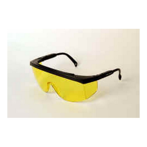 Radians G4 Junior Glasses Amber Yellow Lens, Black Frame