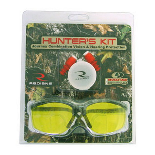 Radians Radians Hunter's Kit Cease Fire Hearing Protection, Journey with Amber Lens HKJRB4C