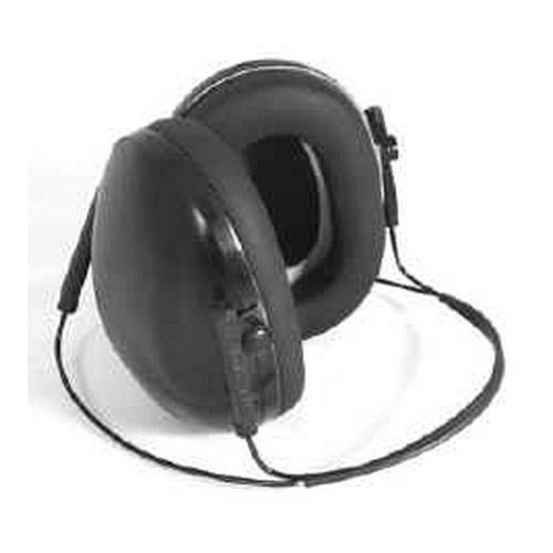 Radians Low set Earmuffs Behind the Head