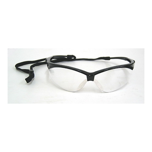Radians Radians Outback Glasses Clear Lens, Black Frame OB0110CS