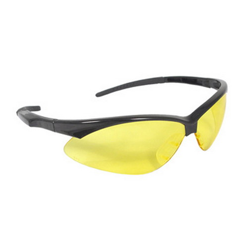 Radians Outback Glasses Anti-Fog, Amber Lens/Black Frame