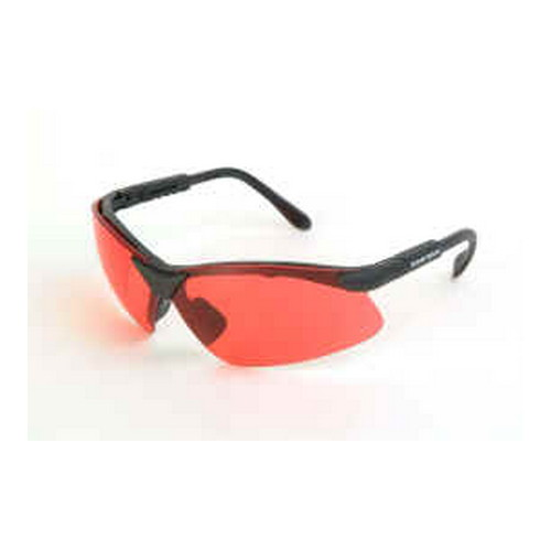Radians Revelation Glasses Vermillion Lens Black Frame