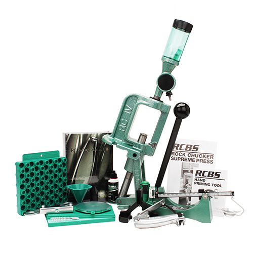 RCBS Rock Chucker Supreme Master Reloading Kit 09361