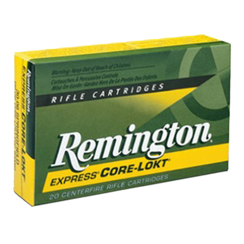 Remington 222 Remington by Remington 222 Remington, 50 Grain, Pointed Soft Point (Per 20)