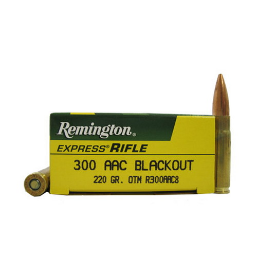 Remington Remington 300AAC Blackout 220gr /20 R300AAC8
