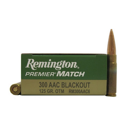 Remington Remington 300AAC Blackout 125gr /20 RM300AAC6