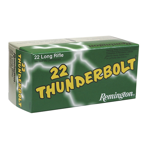 Remington 22LR 40gr Thunderbolt /500
