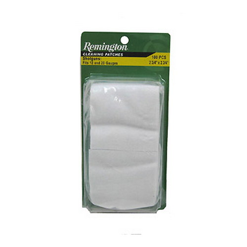 Remington Accessories Shotgun Cleaning Patches 2.75