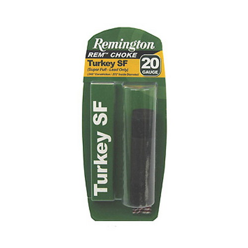 Remington Accessories Remington Accessories Remington Choke 20 Gauge Turkey Super Full 19625