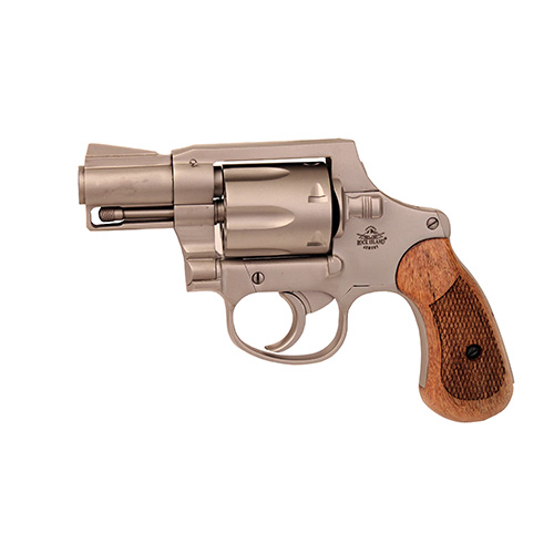 Rock Island Armory Revolver Rock Island Armory M206 Matte Nickel Spurless 38Spl 6rd 51289